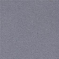 Designer Cotton Blend Jersey Knit Grey