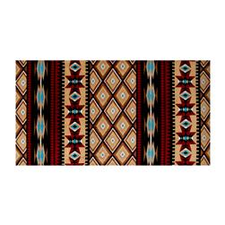 Shannon Minky Cuddle Prints Aztec Honey