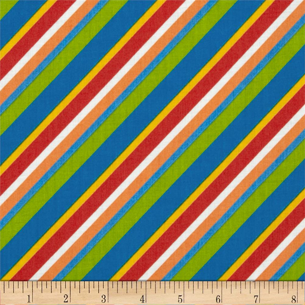 Diagonal Stripe Multi