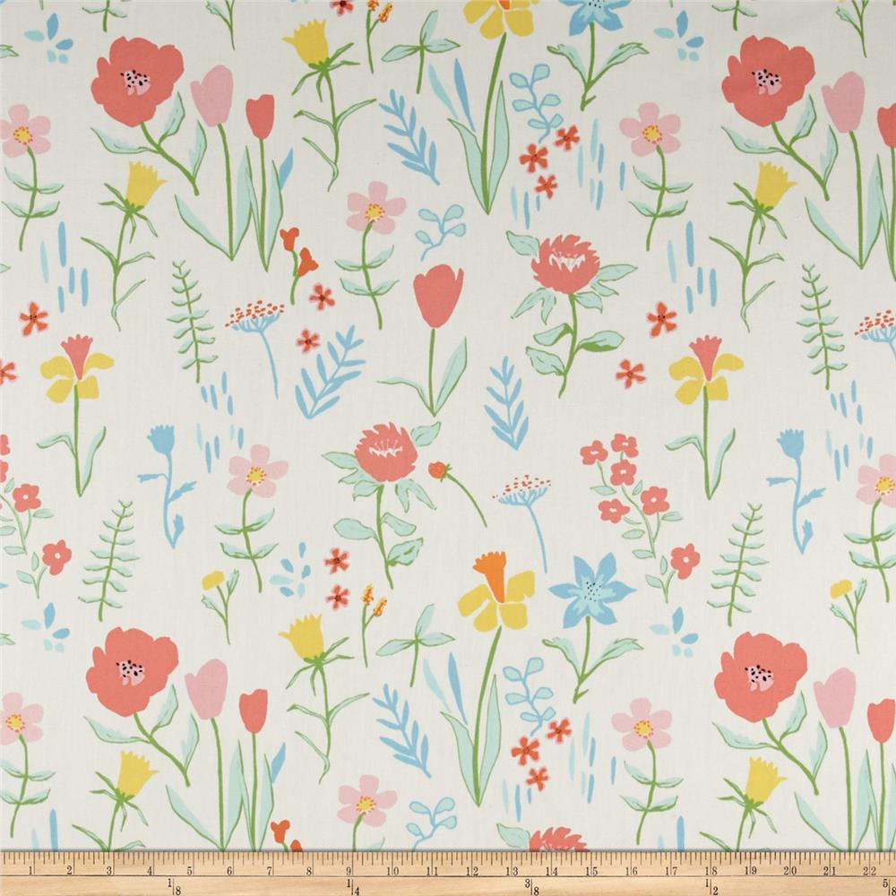 Michael Miller Sommer Canvas Plockade Full Bloom