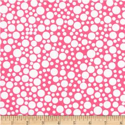 Michael Miller Zoo Littles Girls Things Play Dot Pink