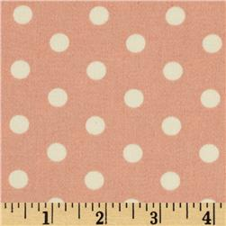 Tanya Whelan Petal Home Decor Sateen French Dots Pink