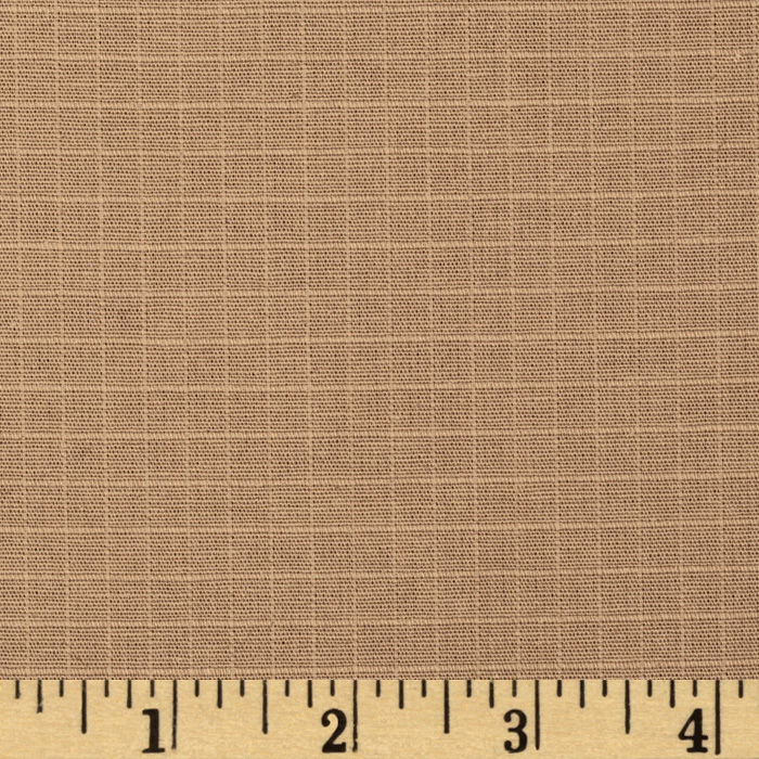 Organic Cotton Ripstop Khaki Fabric by Carr in USA