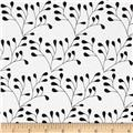 Riley Blake Mod Studio Floral White