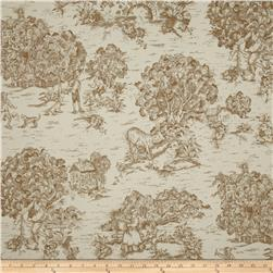 Magnolia Home Fashions Quaker Toile Driftwood Brown