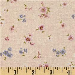Pristine Mini Floral Antique Peach