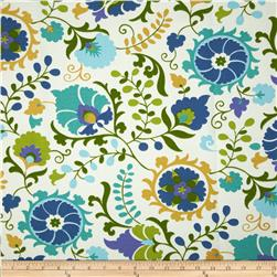 Tempo Indoor/Outdoor Floral Blue/Aqua