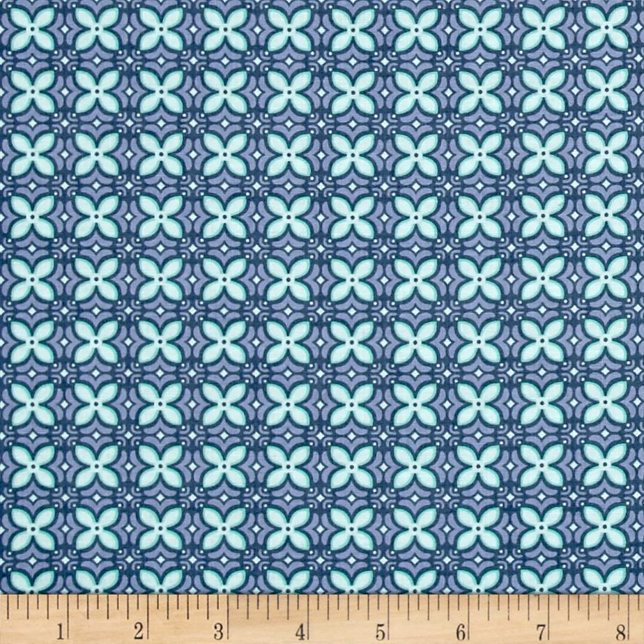 Sew it quilt it love it foulard blue discount for Cheap sewing fabric