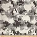 Robert Allen @ Home Plaid World Basketweave Jacquard Charcoal