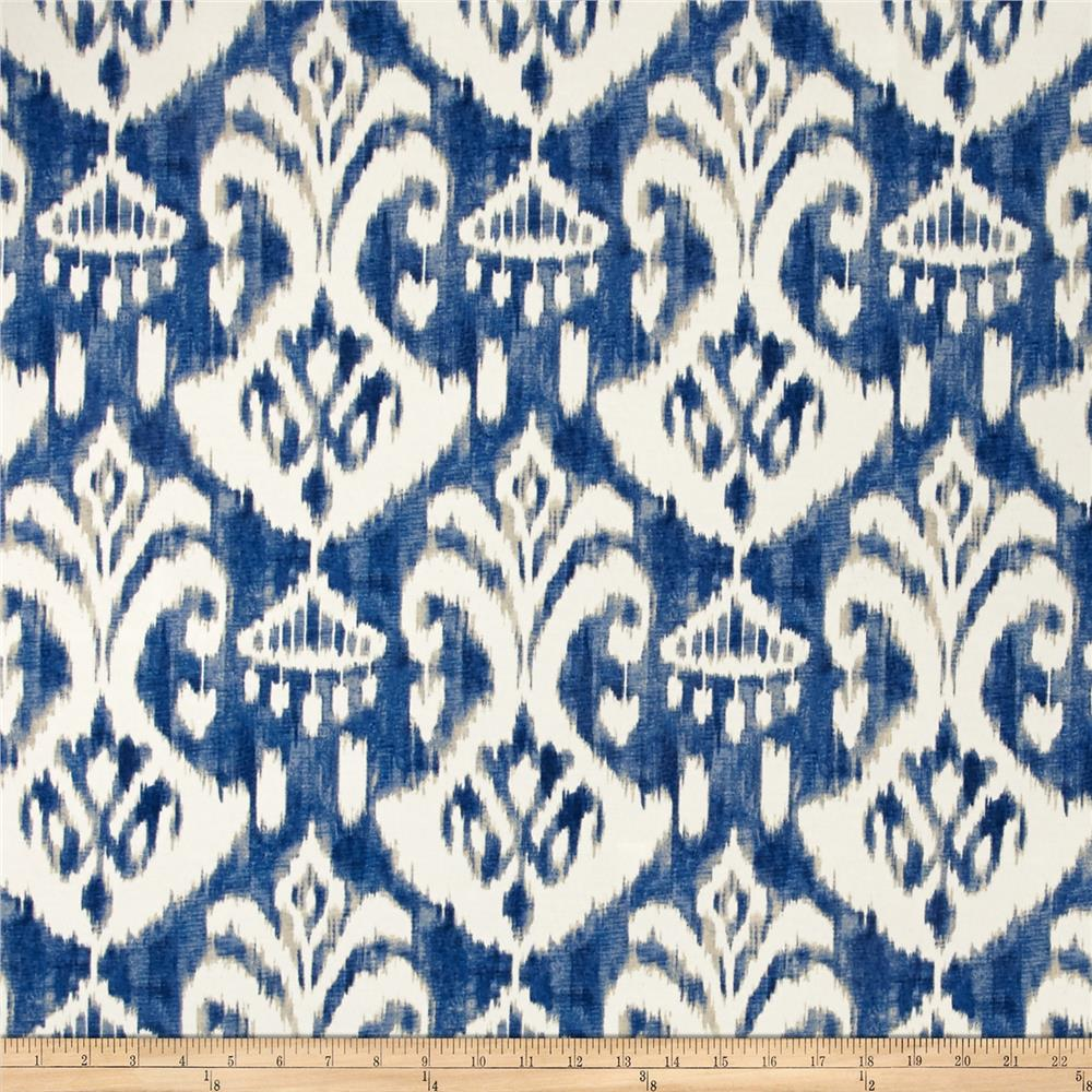 Discount outdoor fabric by the yard - Swavelle Mill Creek Indoor Outdoor Rivoli Indigo Discount