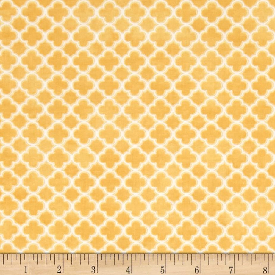 Birds n Bees Geometric Yellow