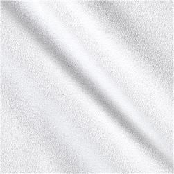 Polyester Crepe Ghost White