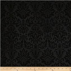 "Embossed Felt 54"" x By the Yard Heritage Damask Black"