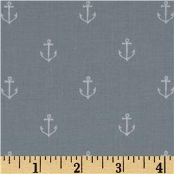Michael Miller Out To Sea Anchors Away Gray