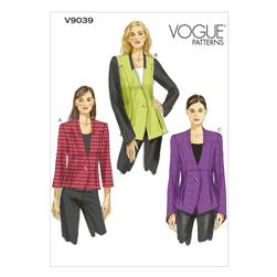 Vogue Misses' Jacket Pattern V9039 Size A50
