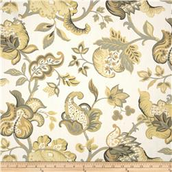 Jacobean Floral Maize/Grey
