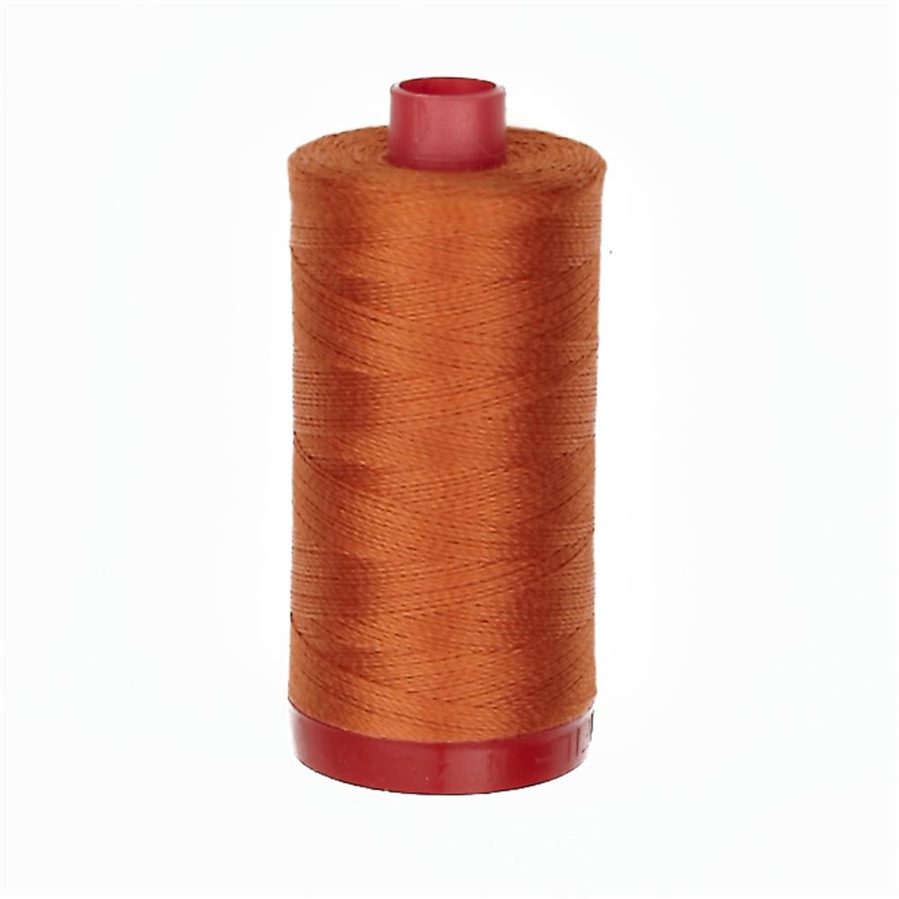 Aurifil 12wt Embellishment and Sashiko Dreams Thread Rusty