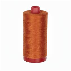 Aurifil 12wt Embellishment and Sashiko Dreams Thread Rusty Orange