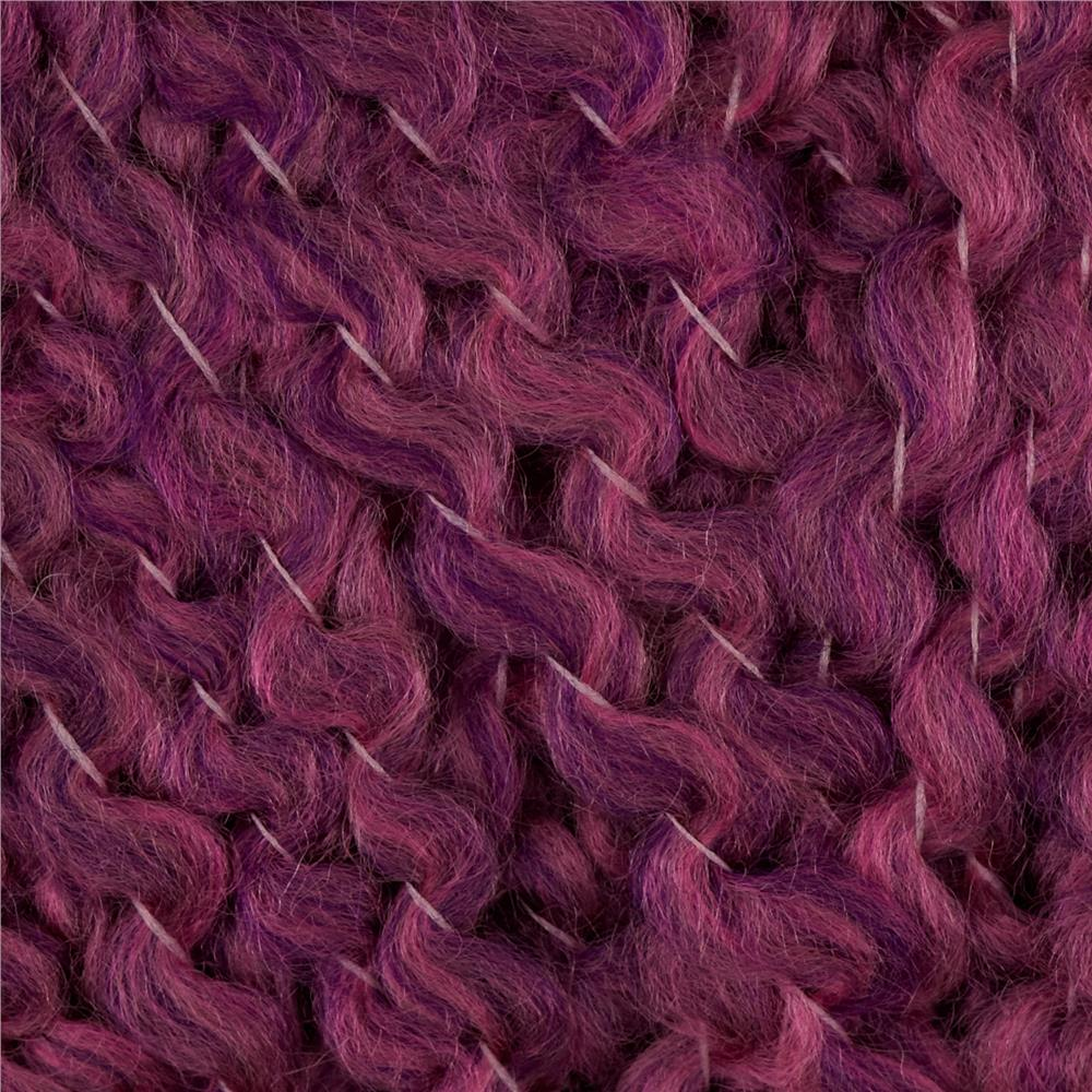Lion Brand Homespun Yarn 398 Plum