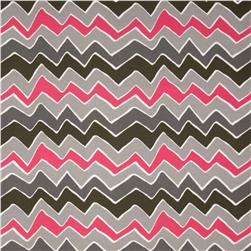 Premier Prints Indoor/Outdoor See Saw Preppy Pink