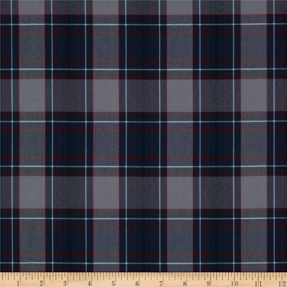Uniform Plaid Blue/Red