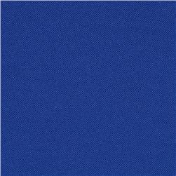 Poly Poplin Solid Royal Fabric