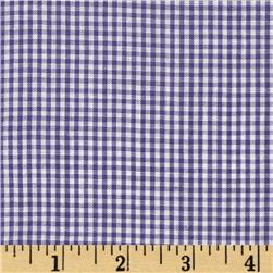 Gingham 1/16'' Checks Galore Purple Fabric