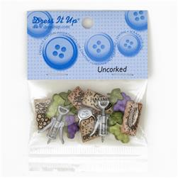 Dress It Up Embellisment Buttons  Uncorked