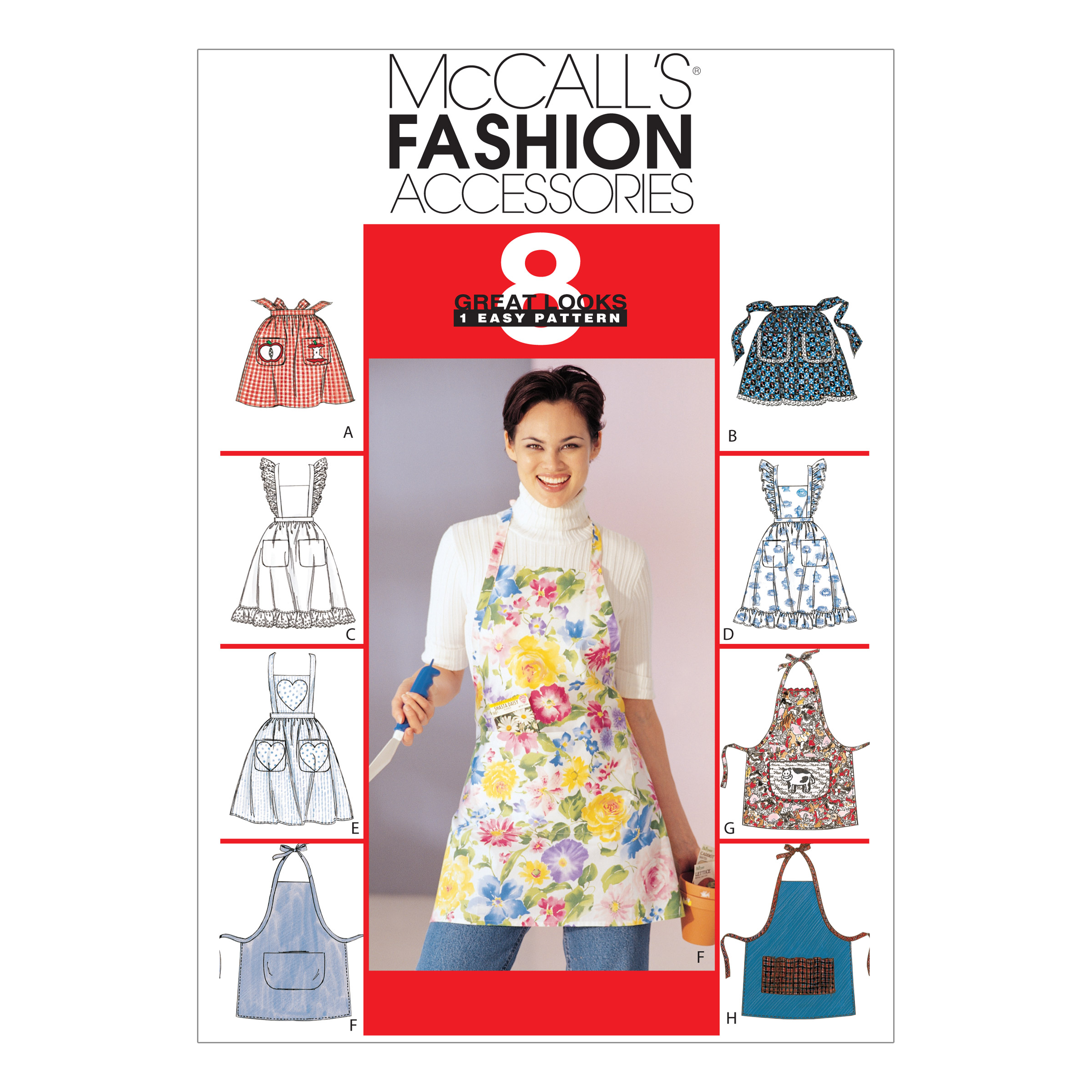 McCall's Misses' Aprons Pattern M2947 Size OSZ by Kwik Sew in USA