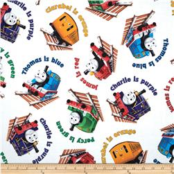 Thomas & Friends The Color Express Color Names Toss White