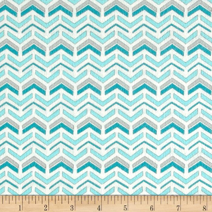 Moda Hugaboo Flannel Which Way Airplane Aqua