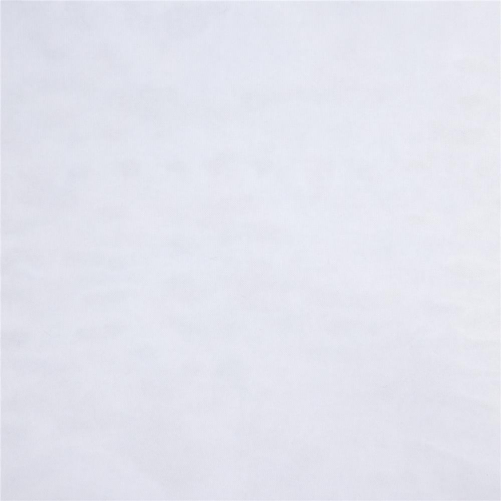 120'' Sheer Voile White Fabric By The Yard