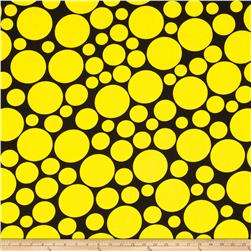 .Com Multi Size Dots Black/Yellow