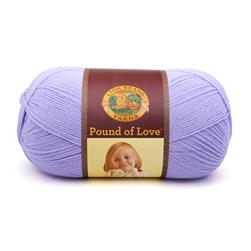 Lion Brand Yarn Pound of Love Lavender