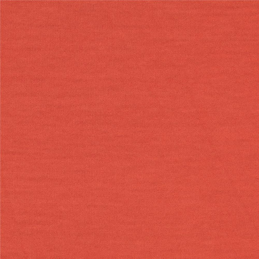 Telio Dakota Stretch Rayon Jersey Knit Salmon Fabric By The Yard