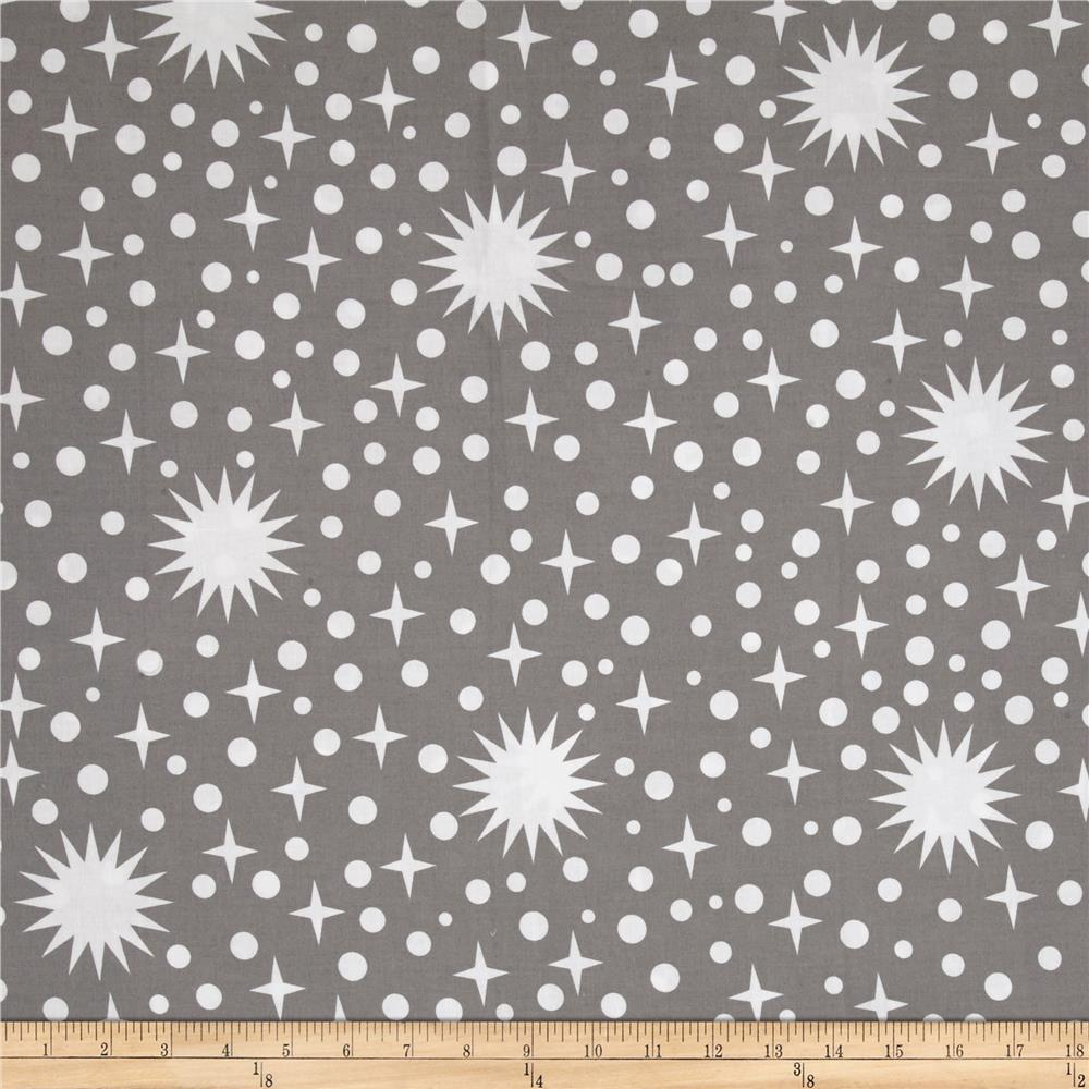 Kaufman rhoda ruth 108 wide celestial smoke discount for Celestial pattern fabric