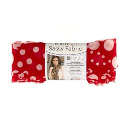 Red Heart Yarn Boutique Sassy Fabric Red Dot