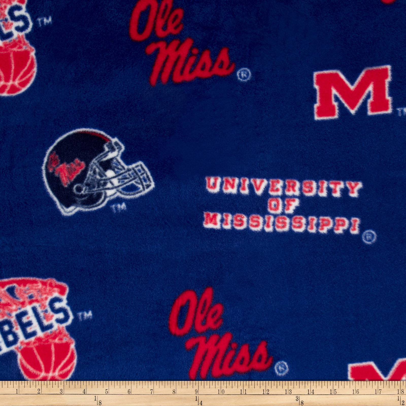 Collegiate Fleece University of Mississippi Red