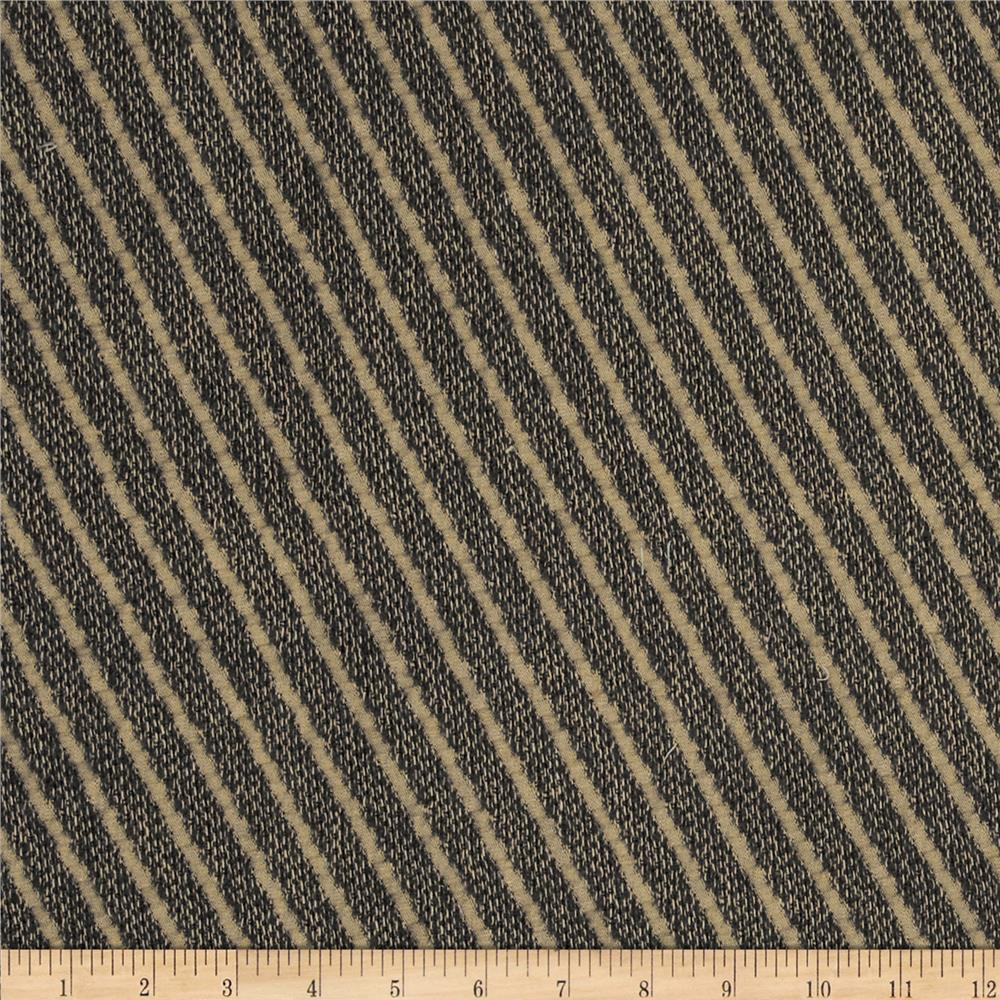 Robert Allen Promo Mindful Diagonal Stripe Wool Blend