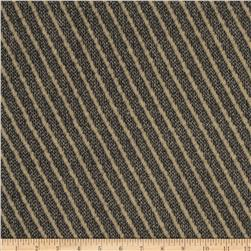 Robert Allen Promo Mindful Diagonal Stripe Wool Blend Grey