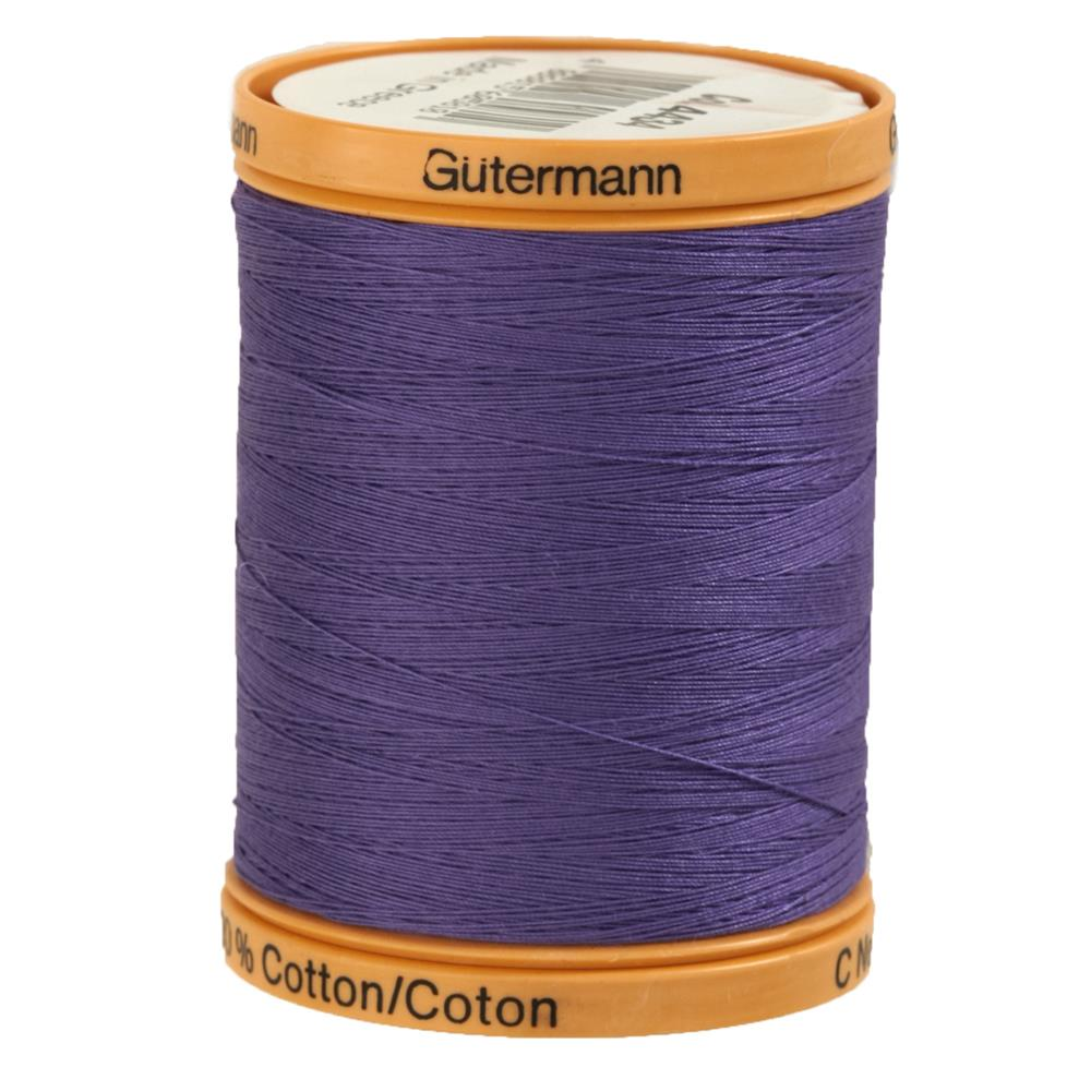 Gutermann Natural Cotton Thread 800m/875yds Grape