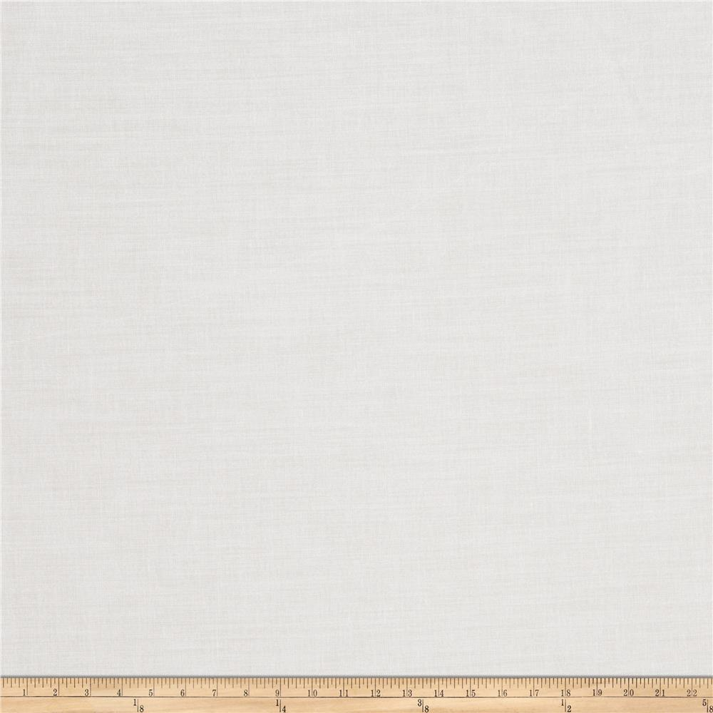 Trend 01514 Sheer Winter White Fabric
