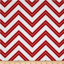 Cruzin' Chevron Stripe Red
