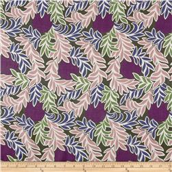 Liberty of London Regent Silk Chiffon Moonlight Purple/Multi