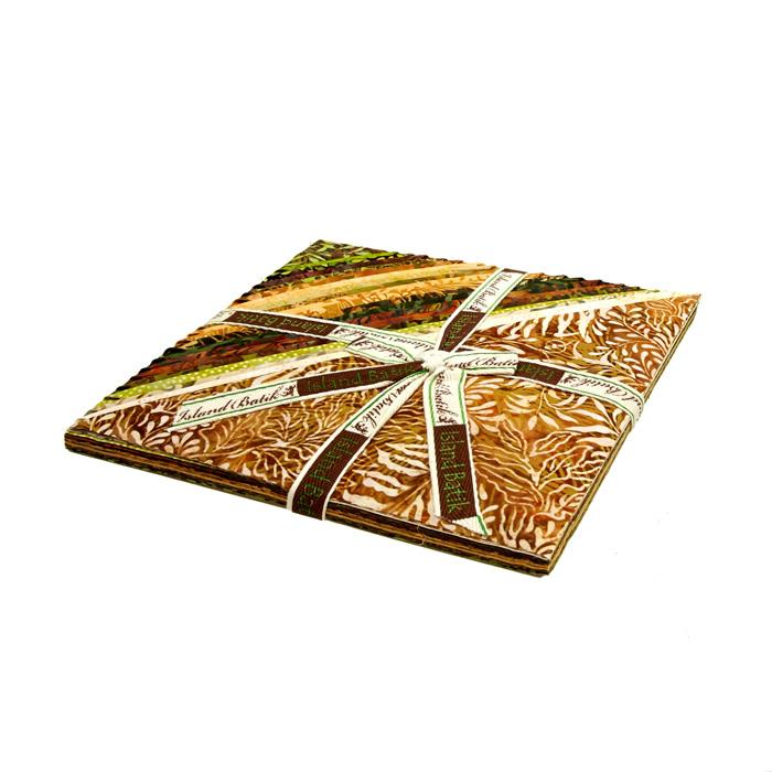 "Island Batik Wheat Grass 10"" Stacks"