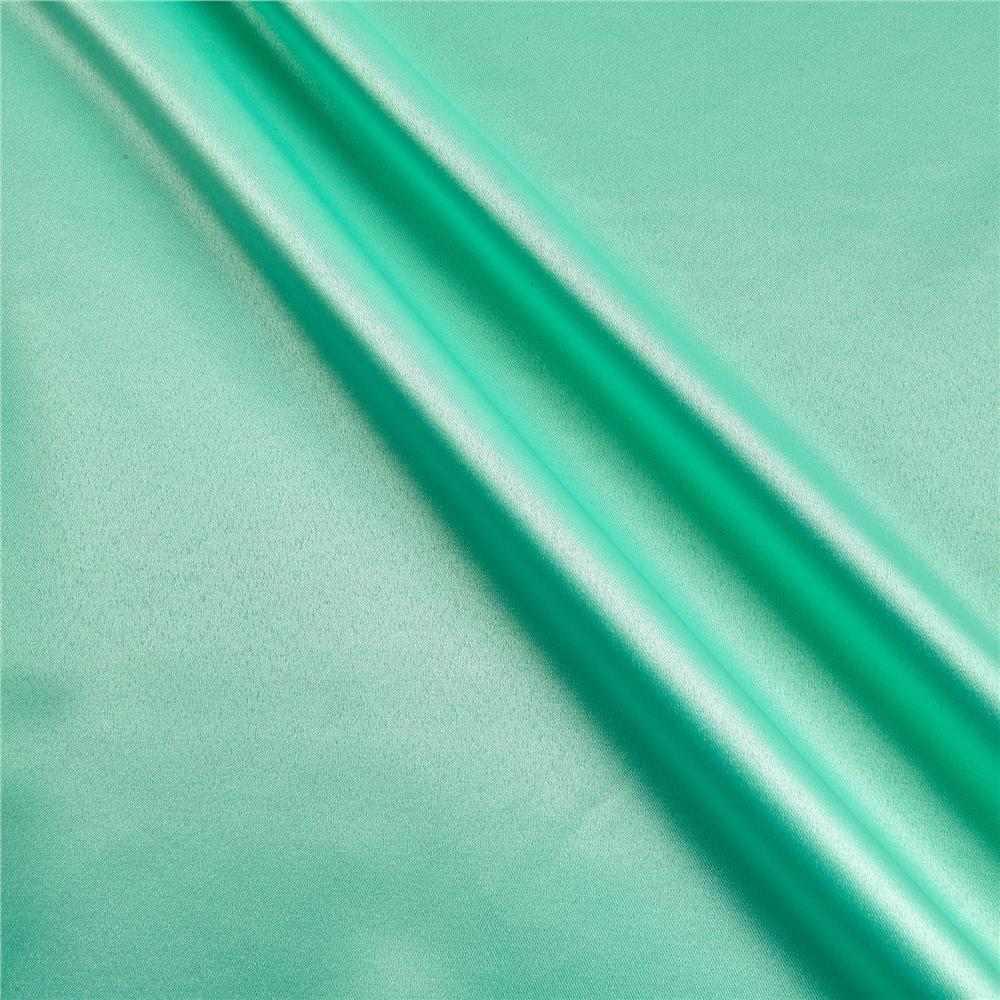 Mi amor duchess satin mint discount designer fabric for Satin fabric