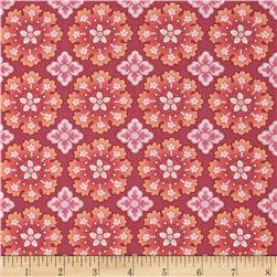 Meadowlark Medallion Pink