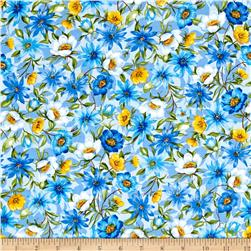 Moda Summer Breeze IV Spring Garden Blue