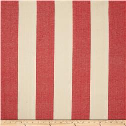 Covington Riley Stripe Yarn Dyed Lobster Fabric