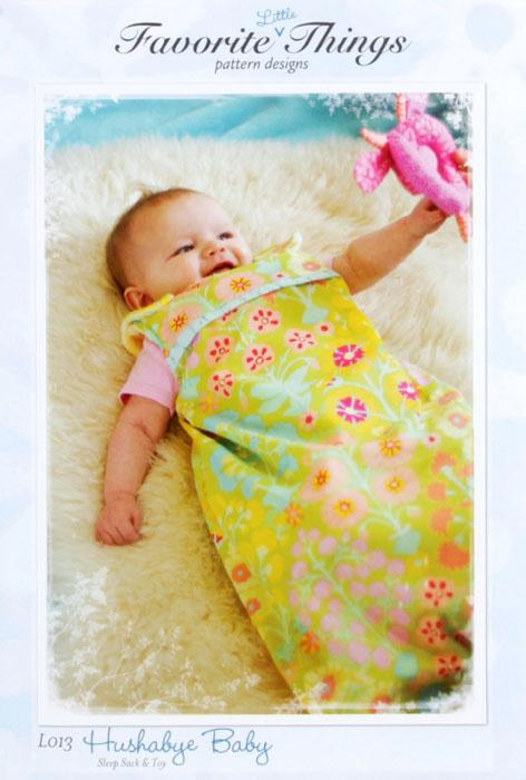 Favortie Things Hushabye Baby Sleep Sack Pattern